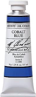 M. Graham Artist Oil Paint Cobalt Blue 1.25oz/37ml Tube