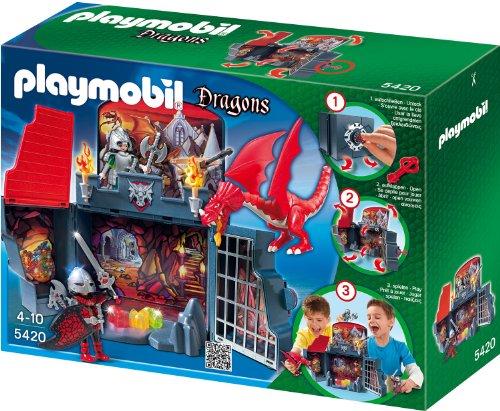 Playmobil 5420 - Drachenverlies, Aufklapp-Spiel-Box