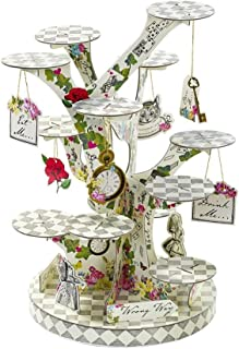 Talking Tables Alice In Wonderland Party Supplies | Cupcake Stand Centrepiece | Great For Mad Hatter Tea Party, Birthday Party And Baby Shower | Paper (Renewed)