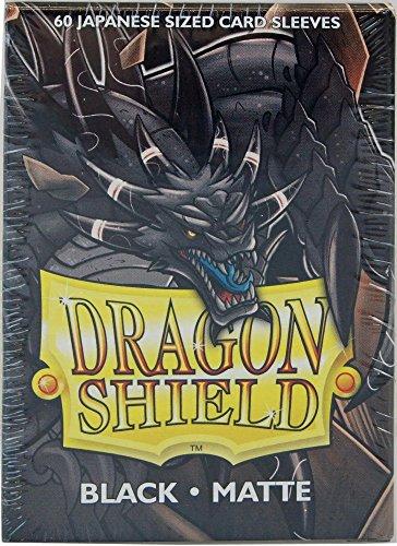 Arcane Tinman Sleeves: Dragon Shield Matte Japanese Black (60)