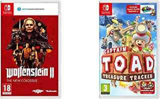 Bethesda Wolfenstein II: The New Colossus Nintendo Switch & Nintendo Captain Toad: Treasure Tracker Nintendo Switch