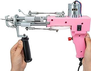 DYJD Électrique Tapis Tufting Gun Tapis Tissage Flocage Machine Tapis Tufting Gun Cut Pile 7-21Mm, Accueil Outils de Brico...
