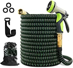 wyewye Garden Hose 100ft Expandable Flexible Hose for Yard with Triple Layer Latex Core, 3/4