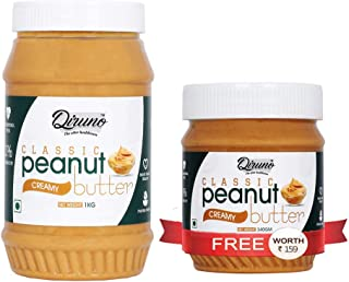 Diruno® Peanut Butter Creamy 1kg (Buy 1kg Get 340g Free)