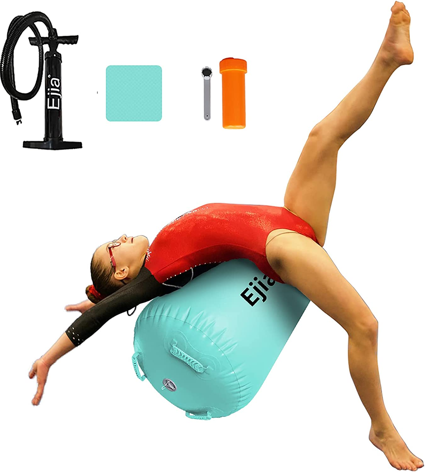 EJIA Air Roller Back Handspring Max 83% OFF Trainer Aid famous Inflatable Gymnasti