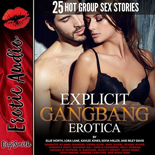 Explicit Gangbang Erotica audiobook cover art