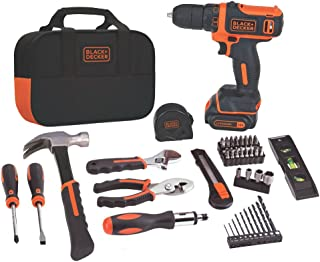 Best black & decker bdcdd12pk drill project kit, 12v Reviews