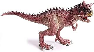Kolobok Dinosaur Toys Park - Dino World Model - Jurassic Action Figures Carnotaurus Great Predator – Wild Pink