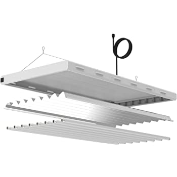 VIVOSUN 4ft 8 Lamps T5 HO Fluorescent Grow Light Fixture for Indoor Plants, UL Listed High Output 6500K Fluorescent Grow Light Tubes Included