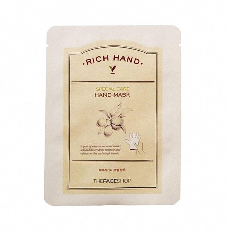 心配するあらゆる種類の発揮する[ザ·フェイスショップ The Face Shop]  リッチ ハンド V スペシャルケア ハンドマスク (3枚) Rich Hand V Special Care Hand Mask (3 Sheet) 韓国コスメ[海外直送品]