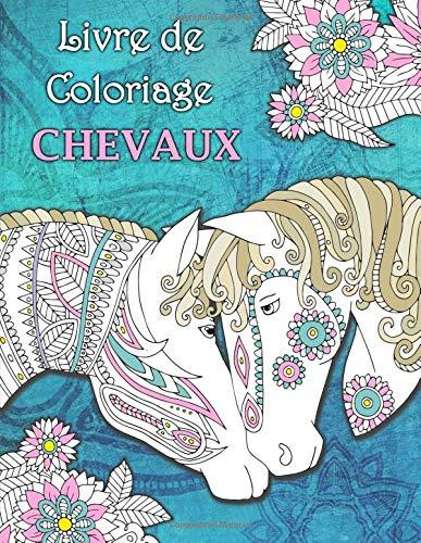 Livre de Coloriage Chevaux