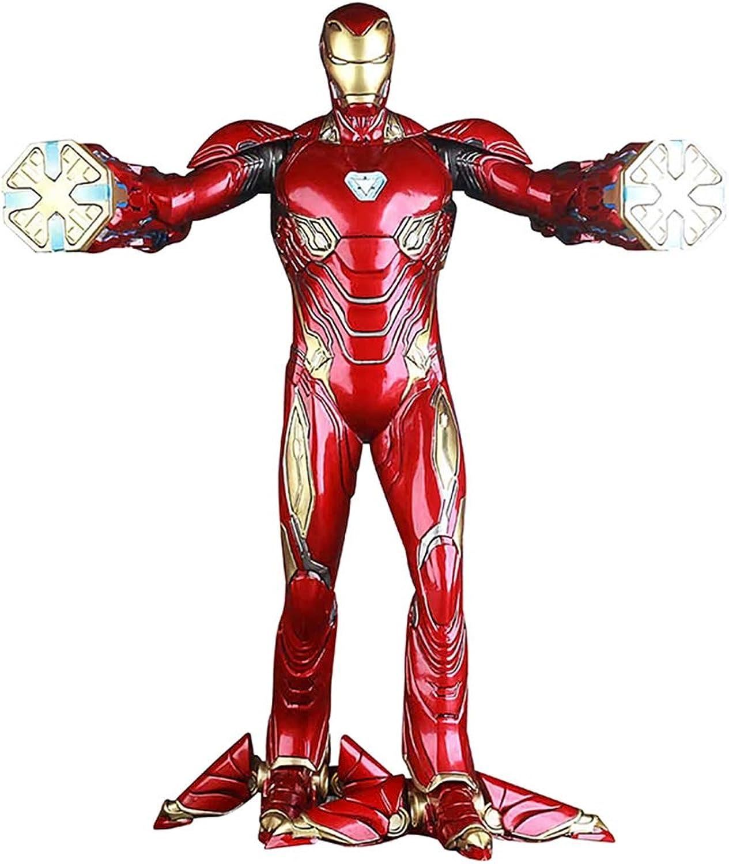 A la venta con descuento del 70%. Modelo de Juguete Avengers 3 Infinite War War War 1 6 Iron Man Figura de acción Modelo de Martillo eléctrico Decoración de Mano  gran venta