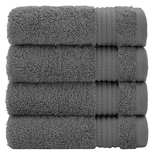 Luxury Genuine Turkish Cotton Washcloths for Easy Care, Extra Soft & Absorbent,...