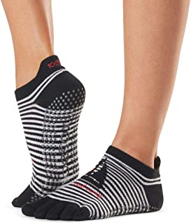 Toesox, Women's Low Rise Full Grip Non-Slip For Ballet, Yoga, Pilates, Barre Toe Socks Calcetines, Mujer