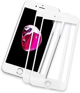 NEW'C Protector de Pantalla de Cristal blindado, Compatible con iPhone 7/8, 3D, dureza 9H, 0,33 mm, Ultra Transparente, Protector de Pantalla HD