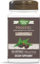 Nature's Way Prostol Prostate Formula Dual Action Saw Palmetto & Nettle, 280 mg per serving, 120 Softgels
