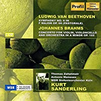 Beethoven: Symphony No.6 / Brahms: Double Concerto for Violin & Cello