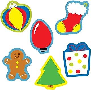 Carson Dellosa – Holiday Mix Mini Colorful Cut-Outs, Classroom Décor, 41 Pieces