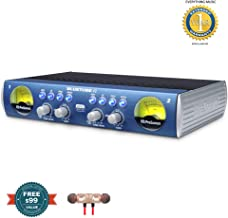 PreSonus BlueTube DP V2 2-channel Mic/Instrument Tube Preamp includes Free Wireless Earbuds - Stereo Bluetooth In-ear and 1 Year Everything Music Extended Warranty