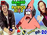 Gaming with Patrick Star