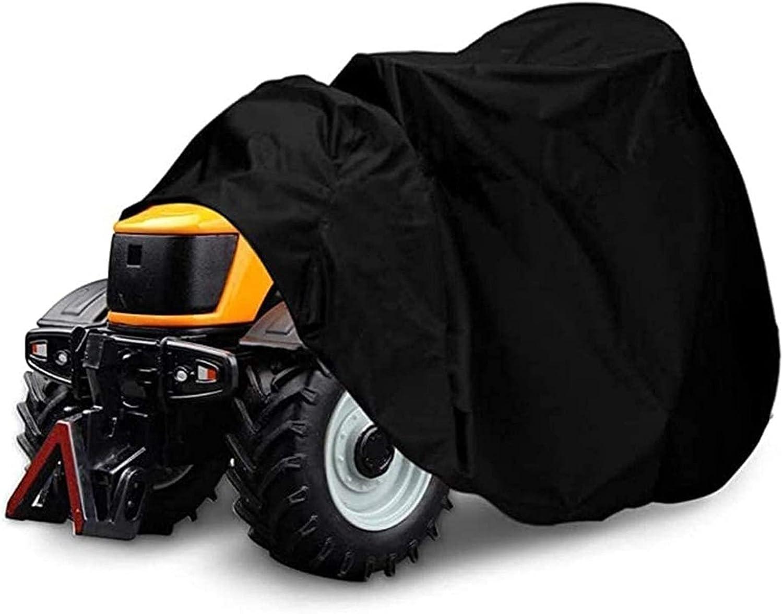 SKYWPOJU Cubierta Premium para Tractor para cortacésped con Asiento - Cubierta Protectora para Trabajo Pesado 100% Impermeable y a Prueba de Rayos UV (Color : S)