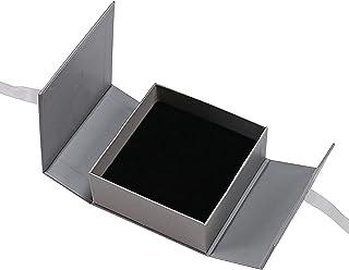 Clenp Cajas De Regalo con Tapas, Caja De Almacenamiento De Joyas Portátil con Pendiente De Cinta, Pulsera, Collar, Organiz...