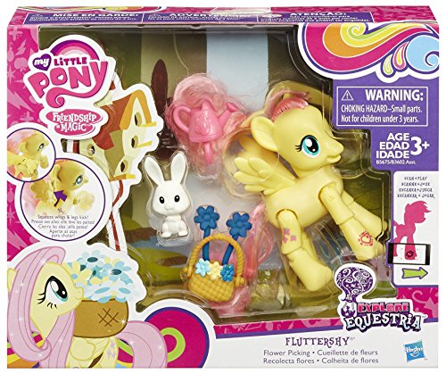 My Little Ponny - Equestria con accesorios (Hasbro B3602EU40), Variedad de modelos