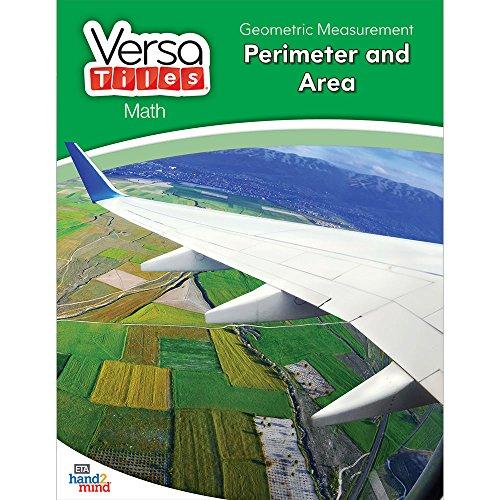 hand2mind VersaTiles Math Books Grade 3 (Geometric Measurement: Perimeter and Area)