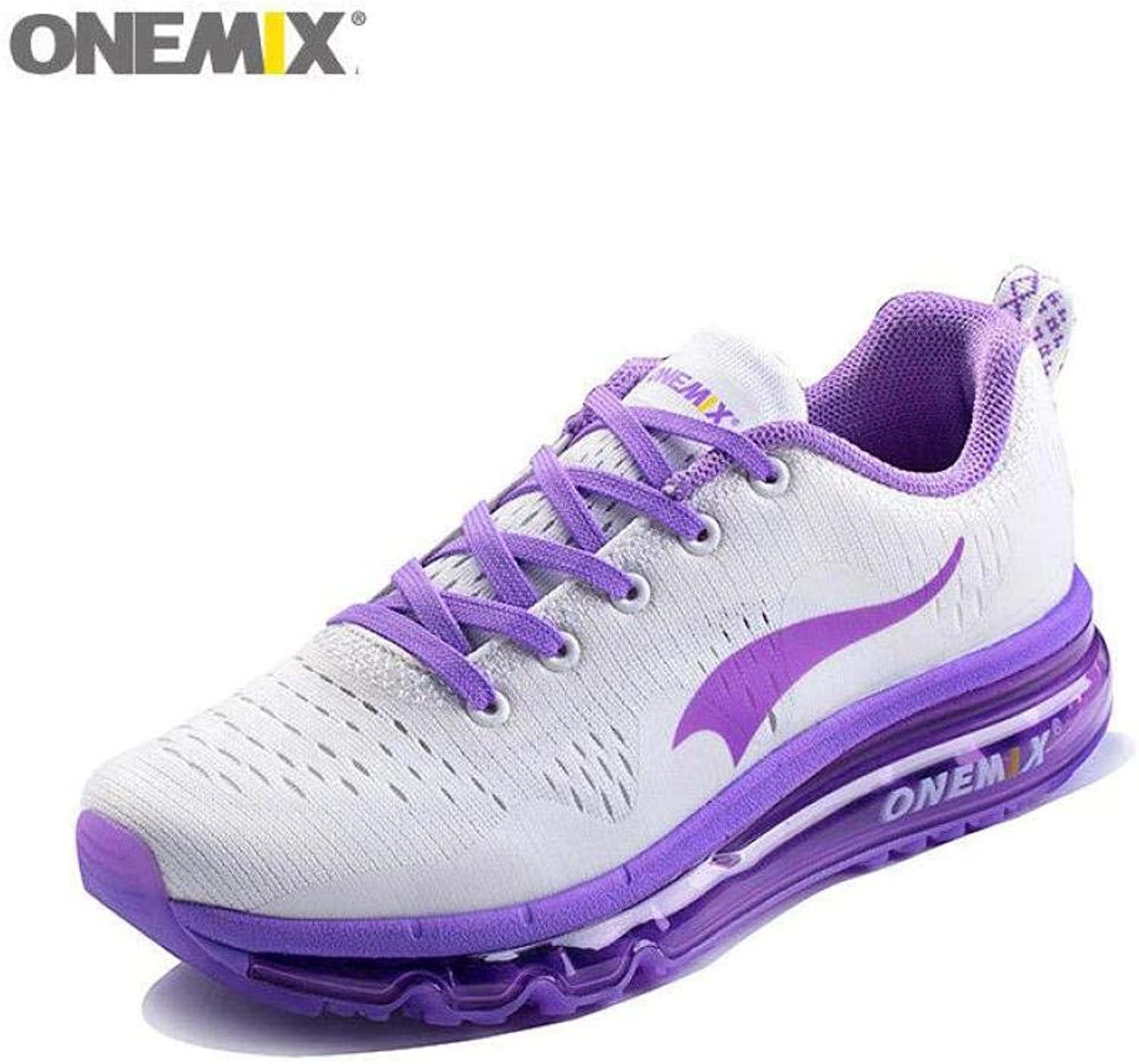 FidgetFidget Fashion Women's Smart Running shoes Athletic Sneakers Casual Gym Trainers Purpl4 Purple