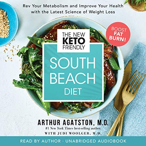 The New Keto-Friendly South Beach Diet audiobook cover art