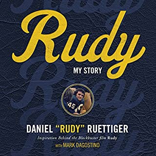 Rudy audiobook cover art