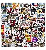 Pauplian 50PCS American Drama Strange Things Graffiti Stickers Waterproof Vinyl Stickers for Laptop, Car, Luggage, Skateboard, Motorcycle, Bumper, Guitar (Stranger Things 3)
