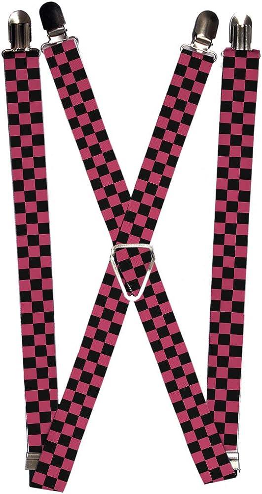 Buckle-Down Suspender - Checkered