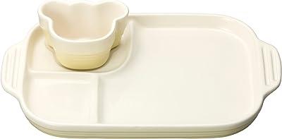 ル・クルーゼ(Le Creuset) 皿 ベビー・マルチプレート&ラムカン デューン 耐熱 耐冷 電子レンジ オーブン 対応 【日本正規販売品】