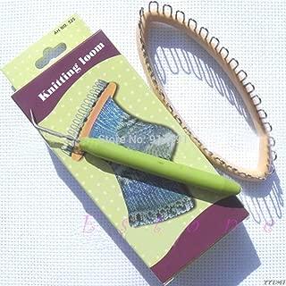 Loom Kit - Diy Knitting Loom Craft Hobby Kit 5.5 Quot X2.2 32 Peg Y110 - Adults Connectors Automatic Adult Assessories Cindwood Design Beginners Wonderloom Accessories Thick Hats Boye Machine