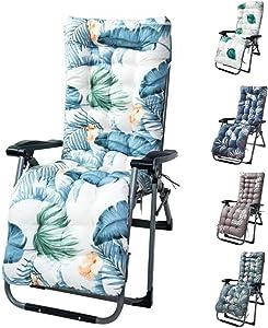 Fordecore Lounger Cushion Patio Chaise Lounge Cushion - 67×21Inch Thickened Lounge Chair Cushion Recliner Cushions Rocking Chair Cushion Sofa Cushion Tatami Mat Window Mat Seat Cushion (Style E)