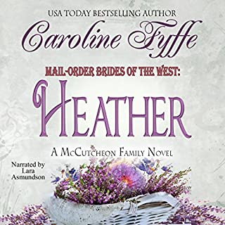 Mail-Order Brides of the West: Heather audiobook cover art