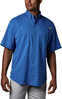 Men's PFG Tamiami II Short Sleeve Shirt, UPF 40 Sun Protection, Wicking Fabric
