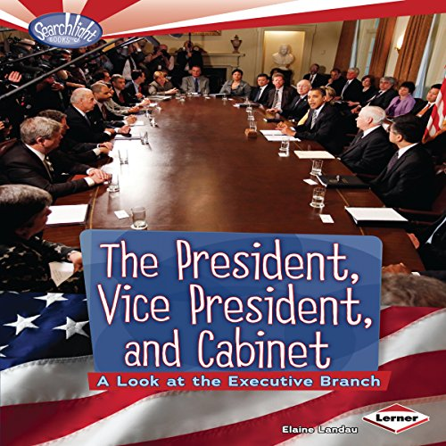 The President, Vice President, and Cabinet audiobook cover art