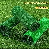 Kunstrasen GAPING Grashöhe 1,5 cm Zaun Dekoration/Wanddekoration/Straßenbegrünung/BAU Rasenteppich Langlebig Schallschutz Staubdicht Leicht Zu Reinigen (Color : B, Size : 2x6m)