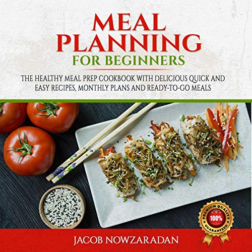 Meal Planning for Beginners audiobook cover art