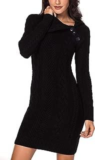 collar sweater dress