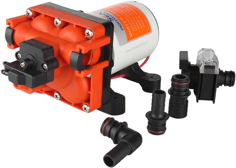 Seaflo 11,3 L min Marine Stiefel Wohnmobil-Membran Wasser Wasser Wasser Druck Pumpe selbstansaugend 3.0 GPM 55 PSI B01M8HSMRR  Globale Verkäufe 5fc31c