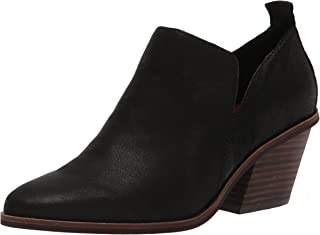 Lucky Brand Women's Victorey Bootie Ankle Boot, Black, 6.5