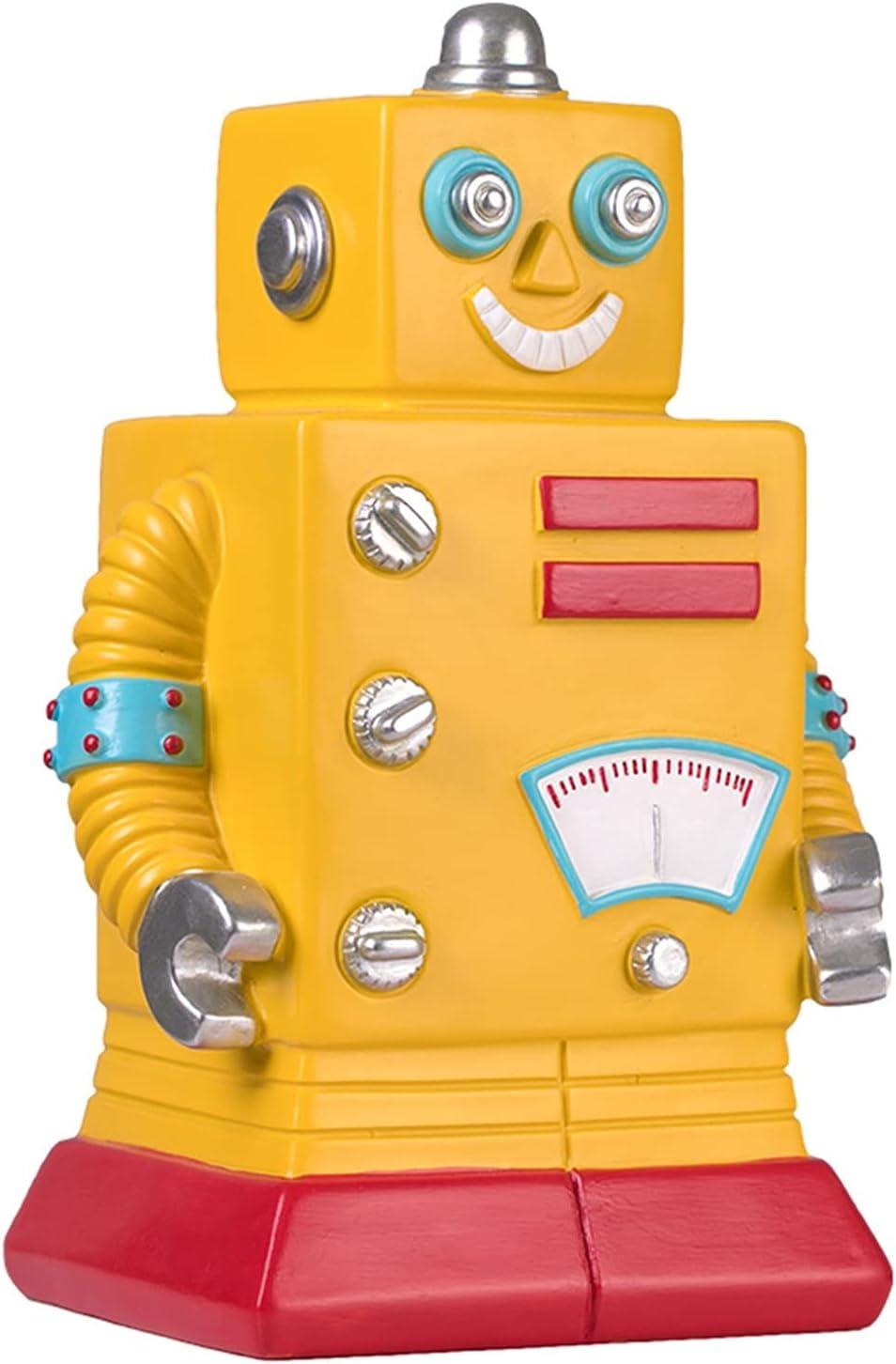LUYIYI Caja de ahorros de Robot de Robot de Dibujos Animados de Historieta de Historieta de Historieta para niños para niños Adornos de decoración de Escritorio