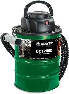 Stayer 1200D Aspirador de Ceniza, 1200 W, 230 V, Verde, 0