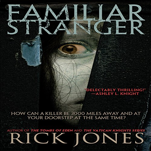 Familiar Stranger audiobook cover art