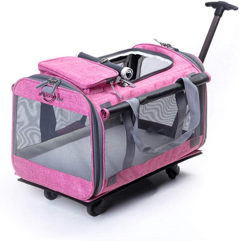 Tulsa Mall CHENGLONGTANG Pet Stroller Folding Wheelchair Max 78% OFF Dog