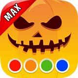 Libro de colorear - Halloween MAX...