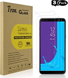Anti Scratch UNEXTATI Screen Protector for Samsung Galaxy J8 2018 2 Pack Tempered Glass Screen Protector Bubble Free Screen Protector